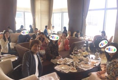 新形式TOEICテスト対策シャングリラ東京オフ会全体写真