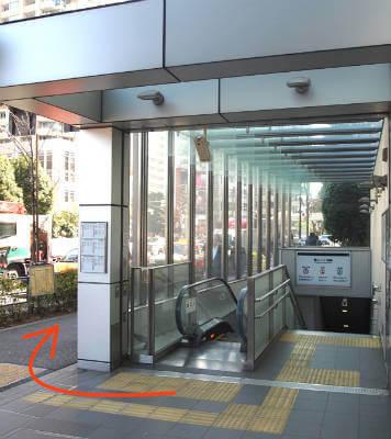 新形式TOEIC対策の英語レッスン青山一丁目アクセス写真1