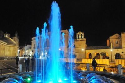南イタリアの世界遺産マテーラの夜景