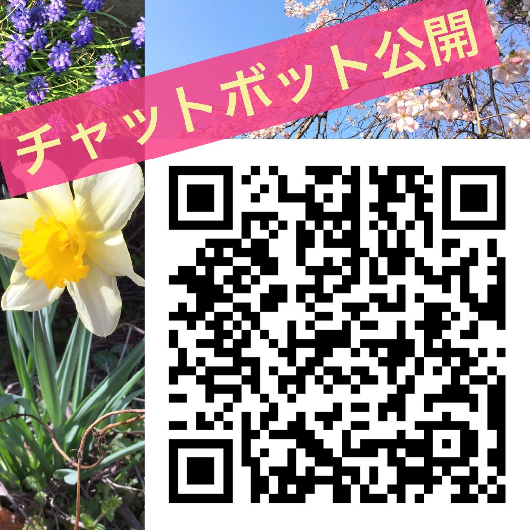 TOEIC研究室カフェ ChatBot 登録用 QRコード
